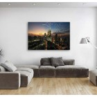 Malaysia KL City Night View Canvas