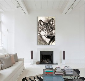 The Wolf Canvas