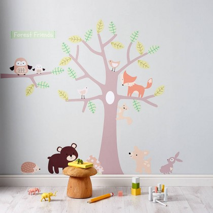 Pastel Forest and Friends