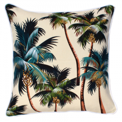 Coconut Tree Print Cushions Cover
