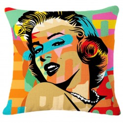 Monroe Pop Art Cushions Cover