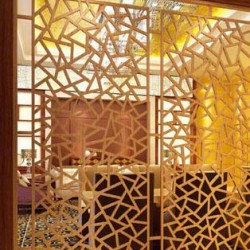 WEB Laser cut privacy screens