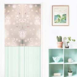 Romantic Pattern Japanese Curtain