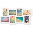 White Multi Picture Wall Frame