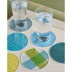 Colorful Round Acrylic Coasters