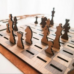 Flat Chess Set
