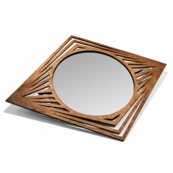 Laser Cut Wall Mirror - Eye