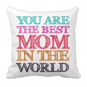 Best Mom Cushion Cover