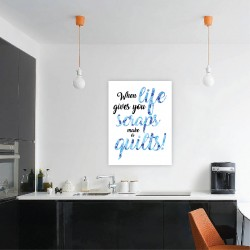 LIFE Quote DIY Canvas