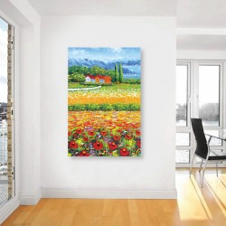 Field of Flower DIY Canvas