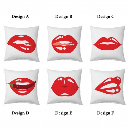 Sexy Lips Cushion Cover