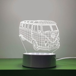 Mini Van LED Decor Light Design ii