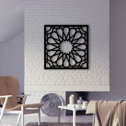 Cut out Pattern Wall Frame Decor
