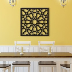 Repeating Cut out Wall Frame Decor