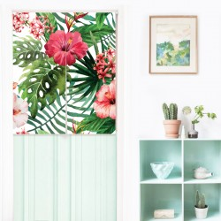 Summer Tropical Japanese Curtain