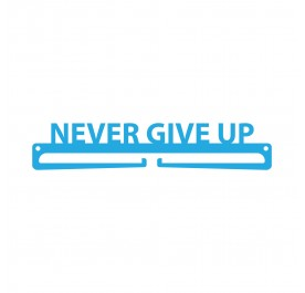 """Never Give Up"" Medal Display Hanger Holder"