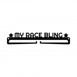 """My Race Bling"" Medal Display Hanger Holder"