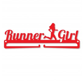 """Runner Girl"" Medal Display Hanger Holder"