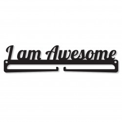"""I am Awesome"" Medal Display Hanger Holder"