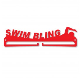 """SWIM BLING"" Medal Display Hanger Holder"