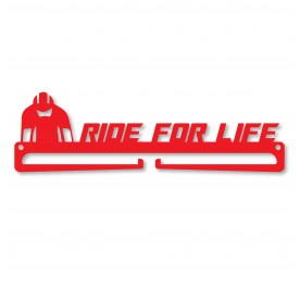 """RIDE FOR LIFE"" Medal Display Hanger Holder"