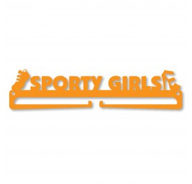 """SPORTY GIRLS"" Medal Display Hanger Holder"