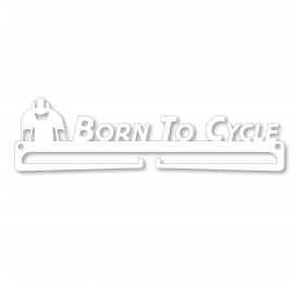 """Born To Cycle"" Medal Display Hanger Holder"