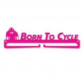 """""""Born To Cycle"""" Medal Display Hanger Holder"""