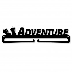 """ADVENTURE"" Medal Display Hanger Holder"