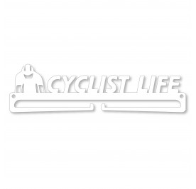 """CYCLIST LIFE"" Medal Display Hanger Holder"