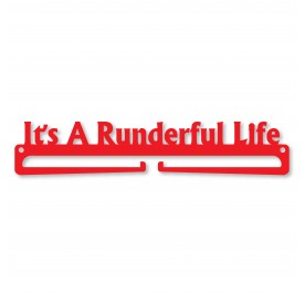 """It's A Runderful Life"" Medal Display Hanger Holder"