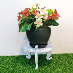 Weatherproof  anti mold outdoor flower pot stand rack plant stand rak pasu bunga 防水防霉园艺花架