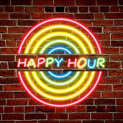 Plug & Play Neon Sign - Happy Hour