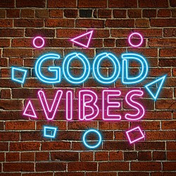 Plug & Play Neon Sign - Good Vibes