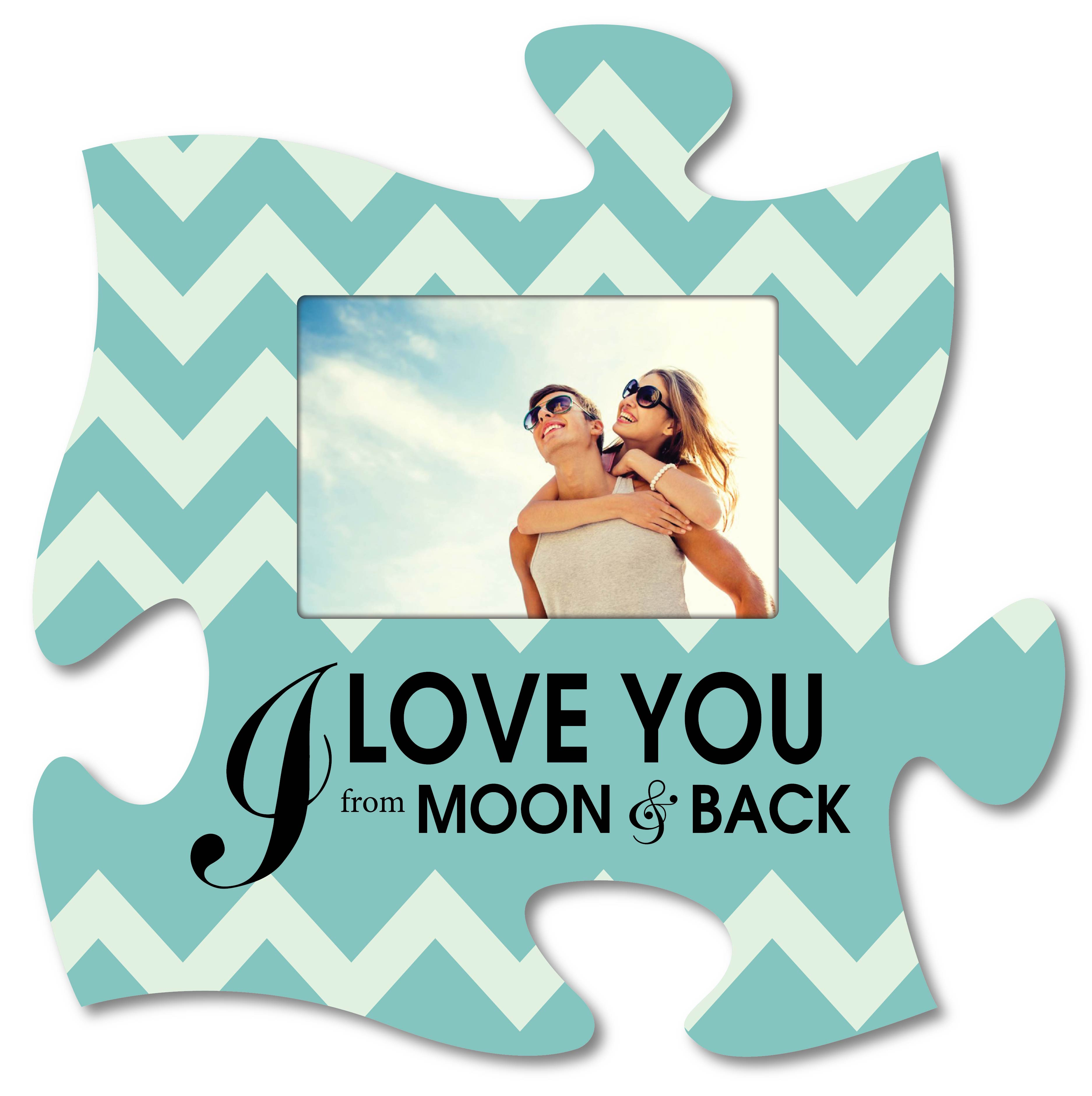 Love Puzzle Piece Frame