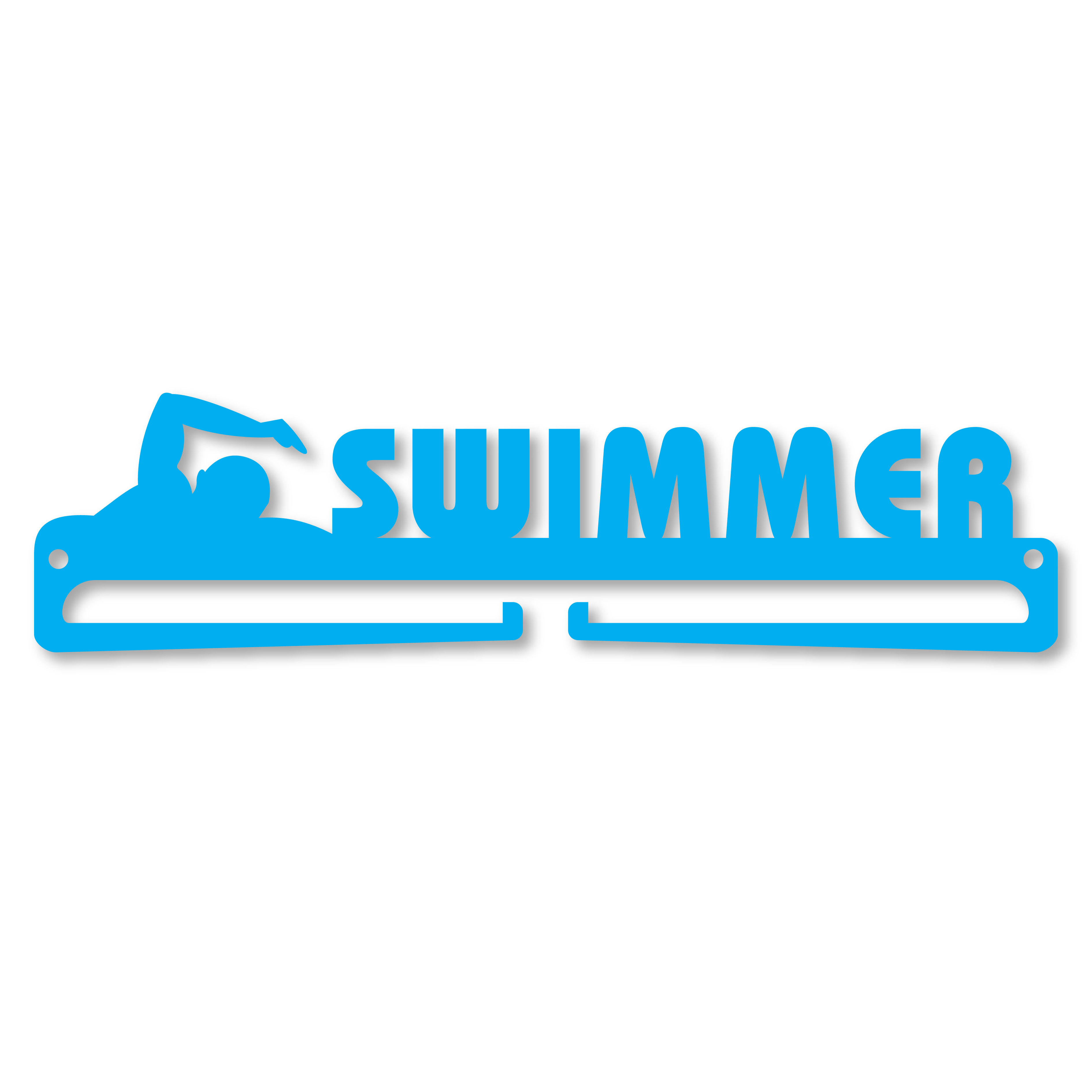 """SWIMMER"" Medal Display Hanger Holder"